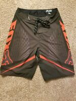 Mens Fox Racing HC Stretch Boardshorts 28 Black