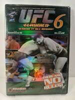 UFC Classics 6 (DVD, 2006) New & Sealed - Ken Shamrock - Dan Severn