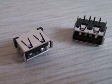 2PC OEM EMACHINES E525 PN55832 USB CONNECTOR PORT JACK REPAIR MOTHERBOARD