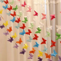 2.5m Colorful Butterfly Bunting Banner Hanging Wedding Party Garland Xmas Decor