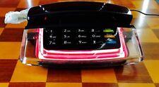 Radio Shack Krystalite Pink Neon Phone Fashion telephone 43-809
