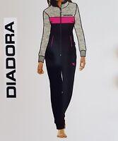 DIADORA. Tuta donna intera. Completo Felpa con zip + Pantalone elastici. 62797.