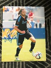 New York Fc Mix Diskerud Autographed Signed 11x14 Photo Coa #3