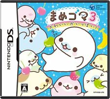 Used Nintendo DS Mame Goma 3: Kawaii ga Ippai Japan Import (Free Shipping)