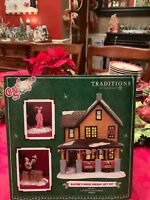 A Christmas Story Dept Department 56 Ralphie's House Holiday Gift Set New