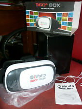 iWotto 360° box Occhiali Realtà Virtuale 3D Virtual Reality+ auricolari