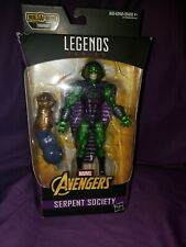 Marvel Legends Thanos Series Serpent Society Avengers BAF Action Figure Used