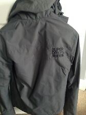 Gorgeous Womens Superdry Windcheater Jacket Grey Small