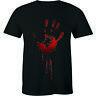 Blood Hand Assaults Shirt - Zombie Bloody Punk Halloween Men's T-shirt Tee