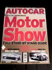 AUTOCAR MAGAZINE 25-MAY-04 - Audi A6 TDi, Ferrari 612, Jaguar S-Type D, Monaro