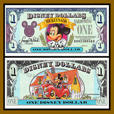 "Disney 1 Dollar, 1993 Series ""AA"" Disneyland Uncirculated"