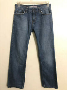 Bullhead Straight Jeans Blue Denim (Men's Size 29 x 30)