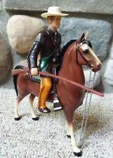 Vintage Hartland Toy Western Figures Jim Bowie With Blaze 800 Series