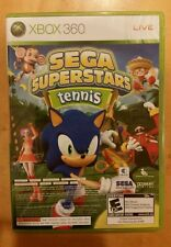 Sega Superstars Tennis Game (Xbox 360, 2008)