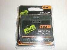 New listing Fox Edges Bait Floss 50m Neutral Carp fishing tackle