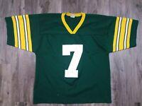 Vintage Green Bay Packers NFL Football Jersey #7 Don Majkowski Mens Size Large