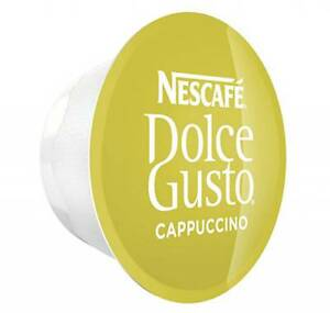 Nescafe Dolce Gusto CAPPUCCINO Milk Pods Only Deal (Pack of 20,25,50,75,100) NEW