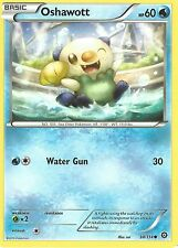 POKEMON XY STEAM SIEGE CARD - OSHAWOTT 30/114