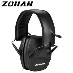 Electronic Shooting Ear Protection Sound Amplification Anti-noise Earmuffs