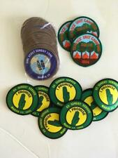 LOT 34 Girl Scout patches 1994 1995 1996 camping Sunday Service unit 3 types