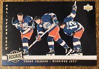 1993-94 Upper Deck ##281 Teemu Selanne All Rookie Team Card - MT
