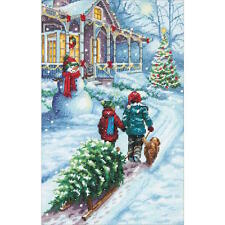 Dimensions Needlecrafts Christmas Tradition Counted Cross Stitch Kit