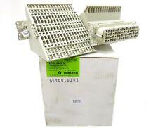 2x Wieland HD bas WR 64 2,5 25 morsetti Adattatore 0,5... 2,5mm² 64 pin 73.105.6453.0