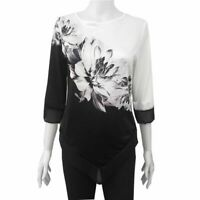 Blouse Fashion Elegant New Tops T-Shirt Casual Top O Neck Pullover Loose Jumper