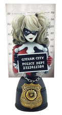 "BATMAN - Harley Quinn 6.5"" Mugshot Bust (Cryptozoic) #NEW"
