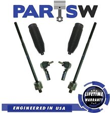 6 New Pc Suspension Kit for Ford Mustang 2005-2010 Inner & Outer Tie Rod Ends