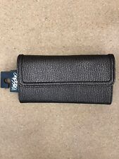 Mossimo Supply Womens Faux Leather Wallet Nuetral Metallic Bronze Gold Envelope