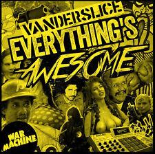 VANDERSLICE Everything's Awesome CD DEMIGODZ APATHY CELPH EVIDENCE FREDDIE GIBBS