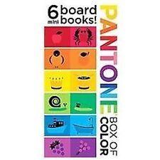 Pantone: Box of Color: 6 Mini Board Books!: 6 Mini Board Books!: By Pantone