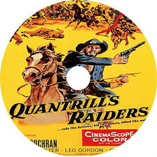 Quantrill's Raiders (1958) Steve Cochran Diane Brewster  V Rare DVD