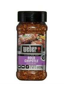Weber Sizzling Hot Bold Chipotle Seasoning, 6.5 Ounce