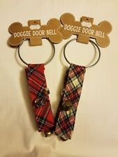 Mud Pie Two Doggie Door Bell Hangers