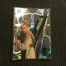 2016 TOPPS HIGH TEK STAR WARS #SW-29 ZETT JUKASSA PADAWAN *PATTERN 2 FORM 1*