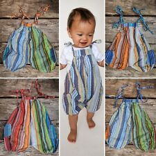 Kids dungarees Children's baby jumpsuit romper hippy boho alternative 0-4 yrs