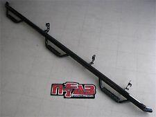 N-Fab Black Textured Nerf Bars Dodge Ram Mega Cab w/ 6.4' Bed 2006-2009