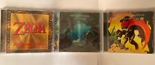 The Legend Of Zelda Cds Ocarina Of Time, Melodies Of Time & Link Between Worlds