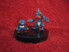 2 Pokemon-Figure:Glibunkel+Toxiquak/Scale 1:40/Yujin/Zukan(Croagunk+Toxicroak)43