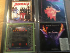 Black Sabbath [4 CD Alben] Tyr IRS + Sabotage + Cross Purposes IRS + Paranoid