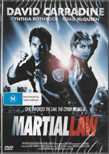 Martial Law NEW PAL Cult DVD Steve Cohen Chad McQueen Cynthia Rothrock