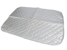Ironing Mat Blanket Quilted Magnetic Portable Travel Size Pad For Table Top
