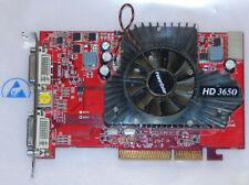ATI Radeon HD3650 512MB DDR2 AGP Grafikkarte DVI VGA TV PowerColor AG3650 512MD2