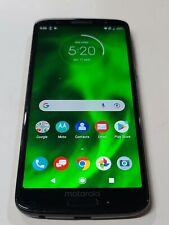 New listing Motorola Moto G6,Xt1925-12,32Gb, Black,Unlocked,Back light,Good Condition :Aa911