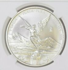 1997 Mexico Onza Silver Libertad NGC MS67 Gem Coin BLAST WHITE!