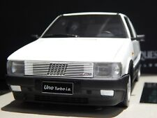 "1:18 Fiat Uno Turbo ie MKI MK1 Top Marques Model Car ""WHITE""  very rare bbr"