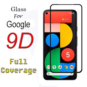 Tempered Glass Screen Protector Cover For Google Pixel 3A XL Pixel 4A 4G 5 5G