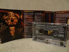 DESTRUCTION All Hell Breaks Loose / 2000 / MC, CASSETTE (EX) SODOM, EXODUS